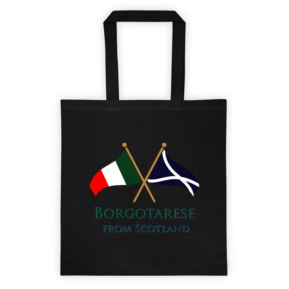 Borgotarese from Scotland Tote bag