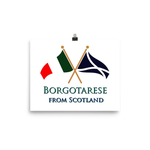 Borgotarese from Scotland Photo paper poster