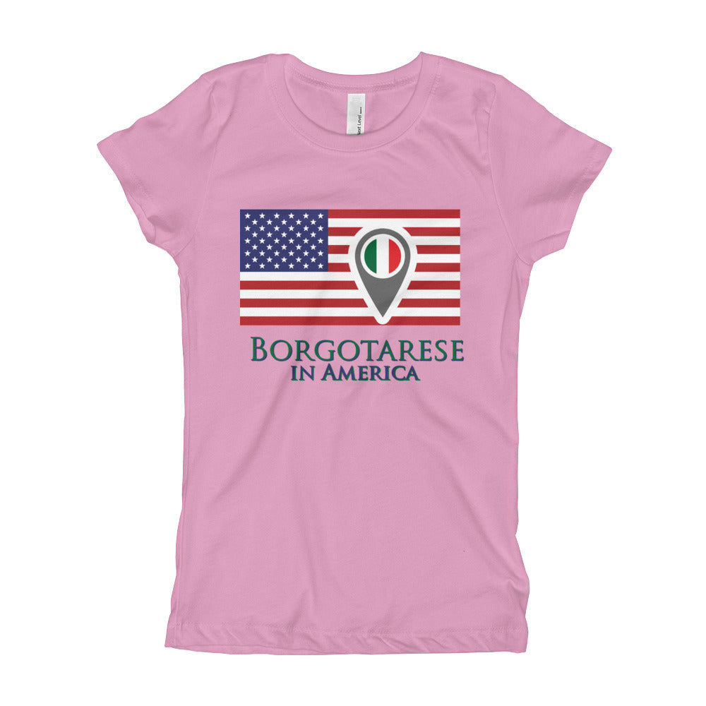 Borgotarese in America Girl's Short Sleeve T-Shirt