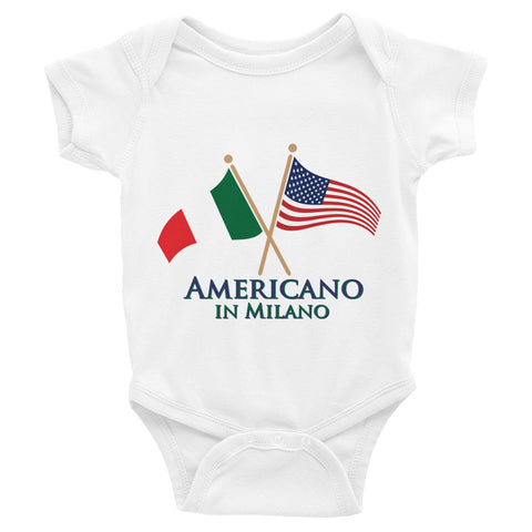 Americano in Milano Infant Bodysuit