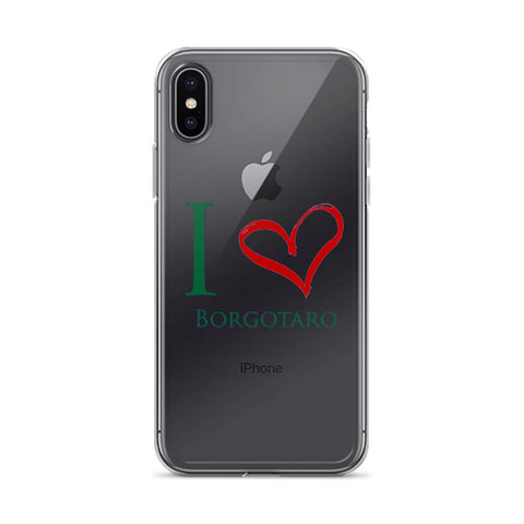 I Love Borgotaro iPhone Case
