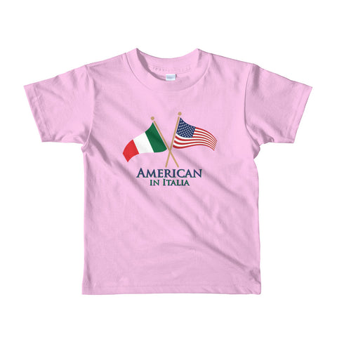 American in Italia Short sleeve kids t-shirt