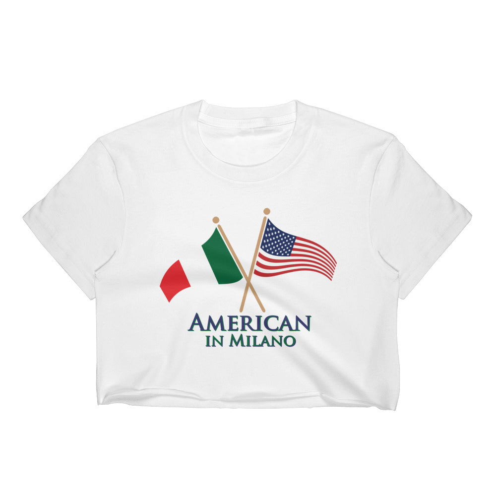 American in Milano Women's Crop Top
