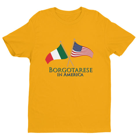 Borgotarese in America Unisex Short Sleeve T-shirt