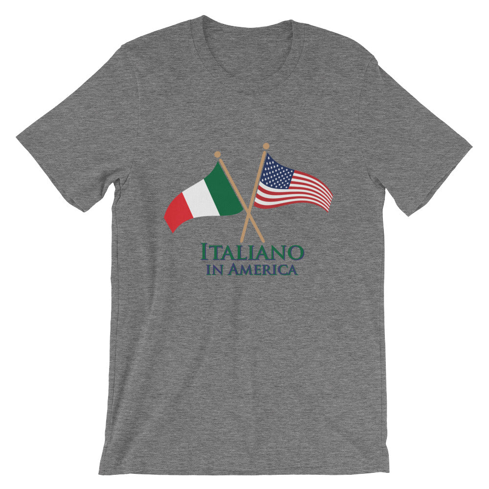Italiano in America, Men's Short Sleeve T-Shirt