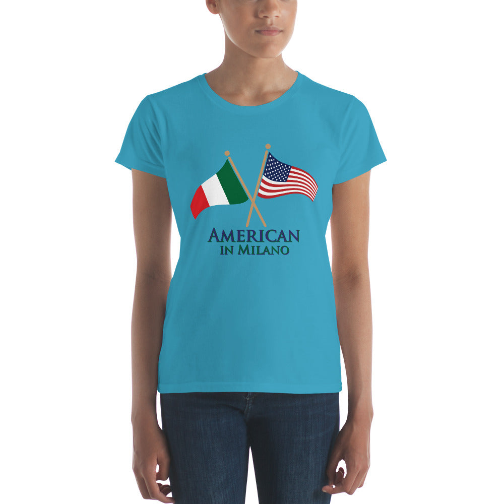 American in Milano Women's short sleeve t-shirt