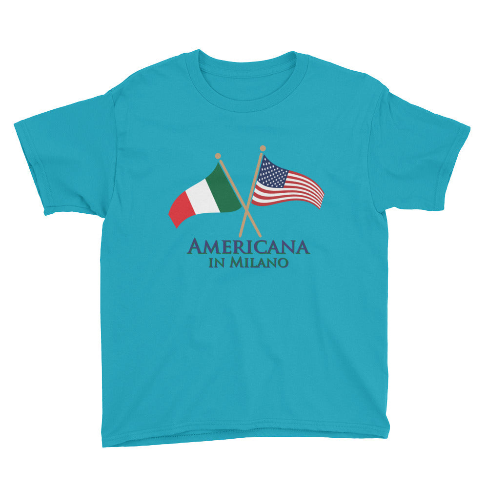 Americana in Milano Youth Short Sleeve T-Shirt