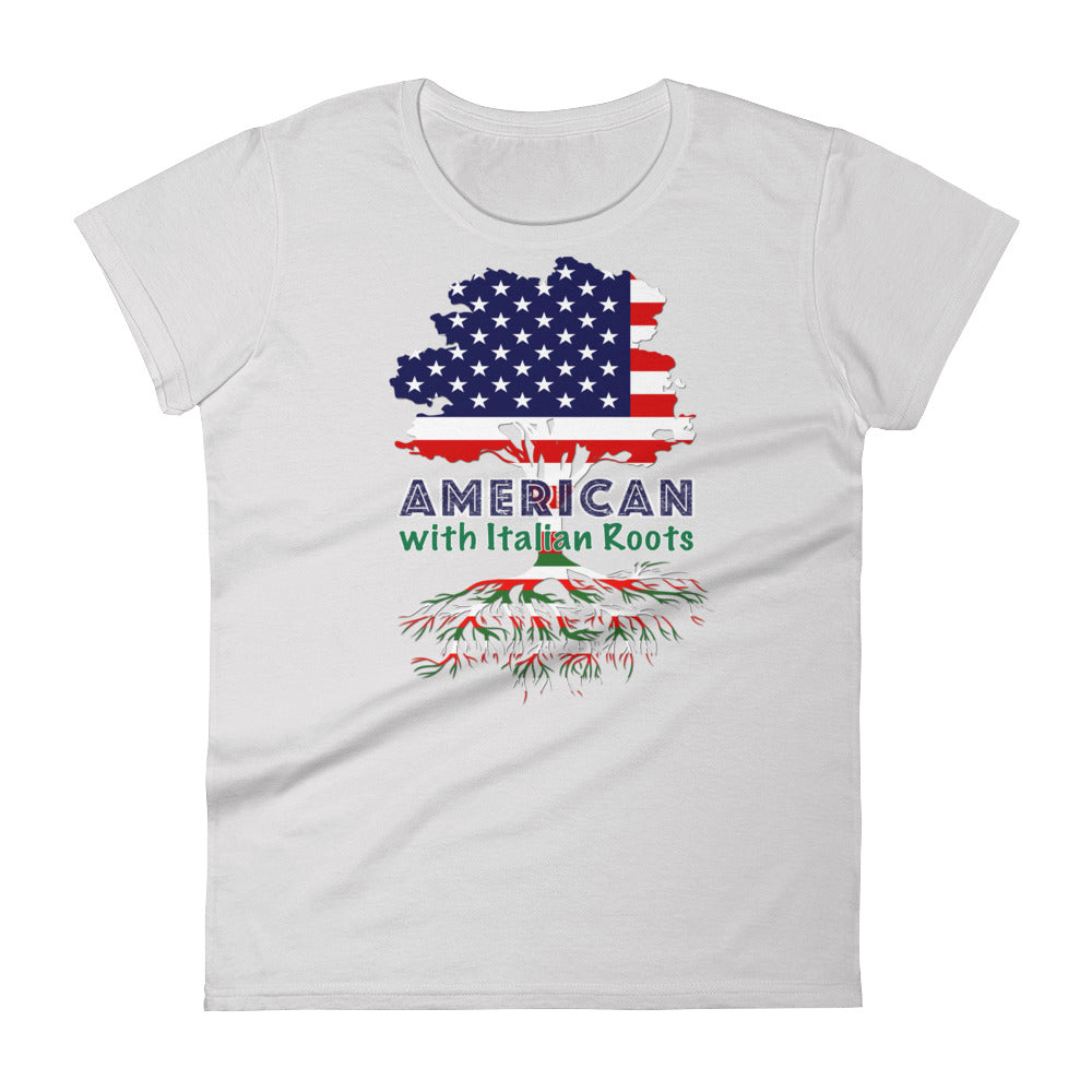 American with Italian Roots Style 1 Women's short sleeve t-shirt