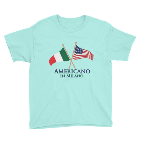 Americano in Milano Youth Short Sleeve T-Shirt