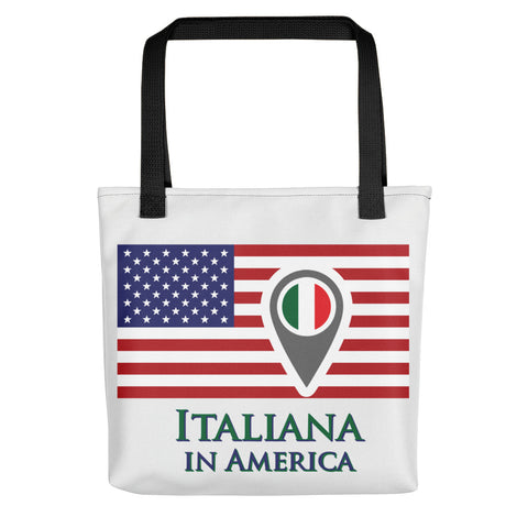 Italiana in America Tote bag