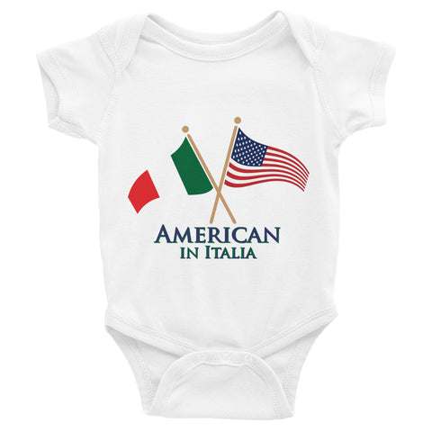 American in Italia Infant Bodysuit
