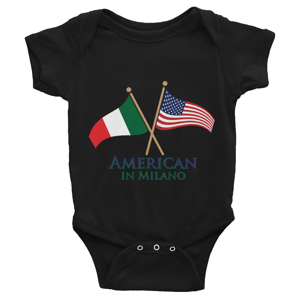 American in Milano Infant Bodysuit
