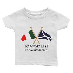 Borgotarese from Scotland Infant Short Sleeve T-shirt