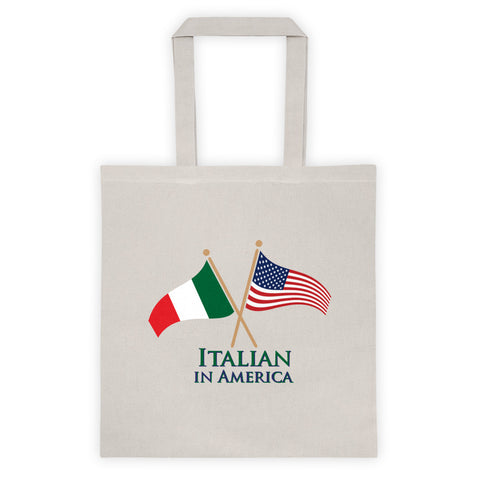 Italian in America Tote bag