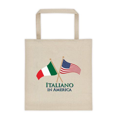 Italiano in America Tote bag