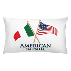 American in Italia Rectangular Pillow