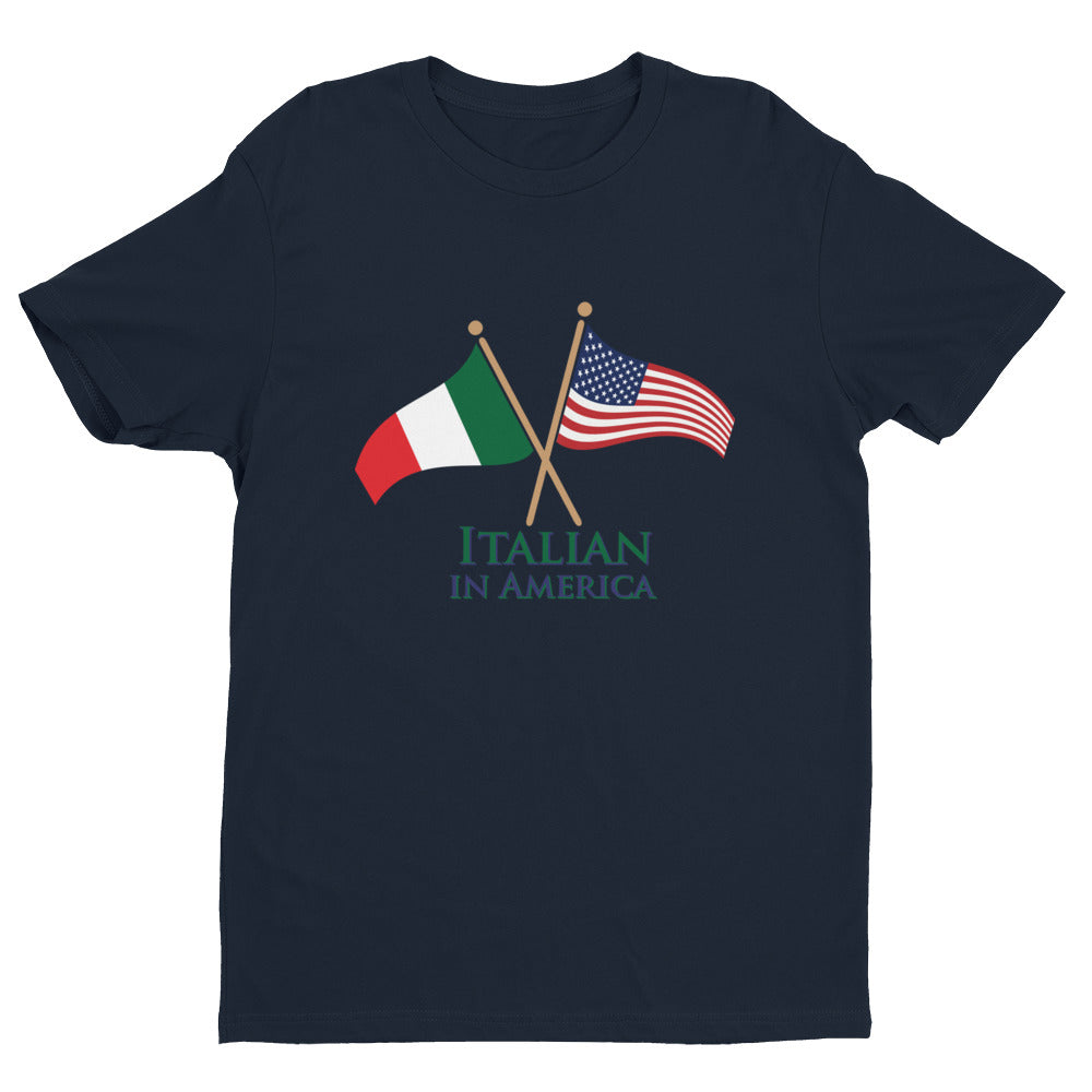Italian in America Unisex Short Sleeve T-shirt