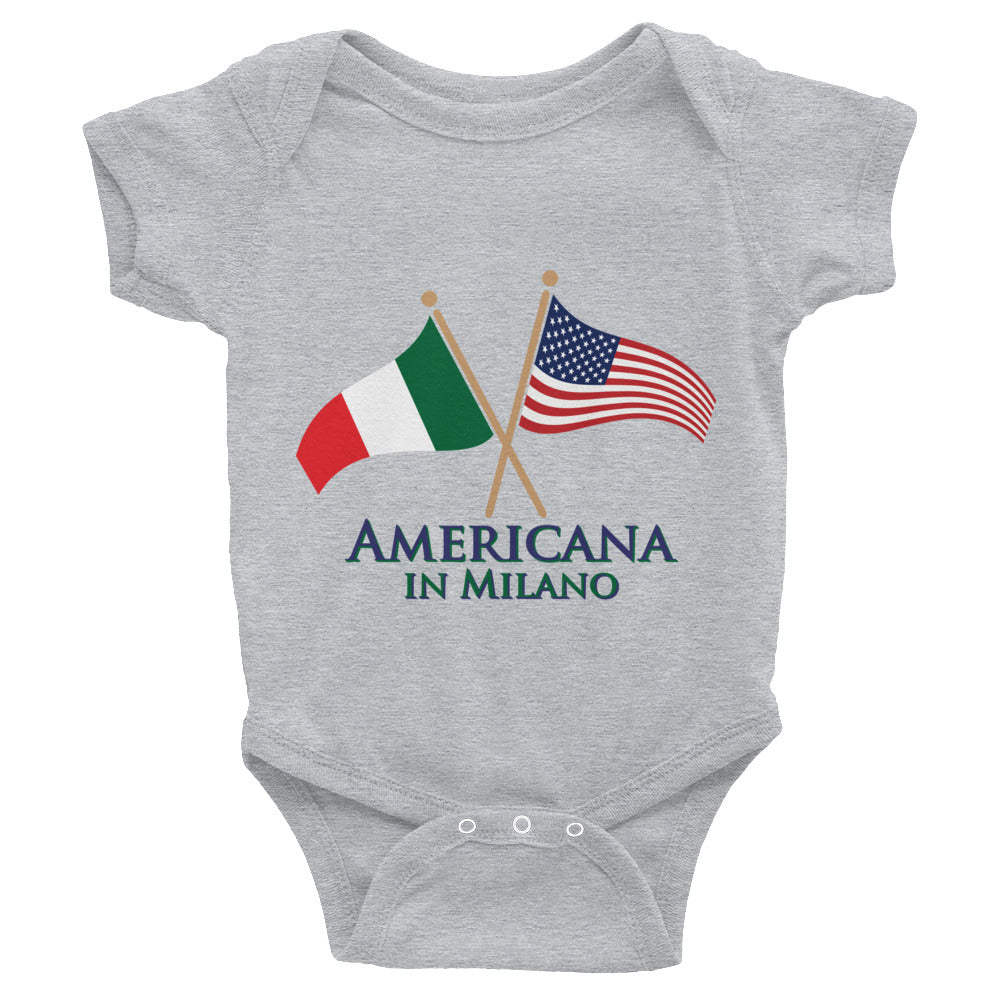 Americana in Milano Infant Bodysuit