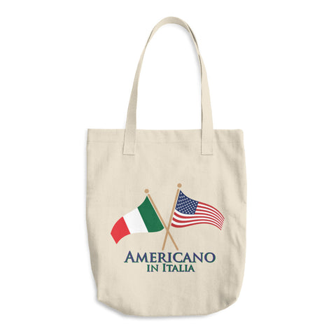 Americano in Italia Cotton Tote Bag