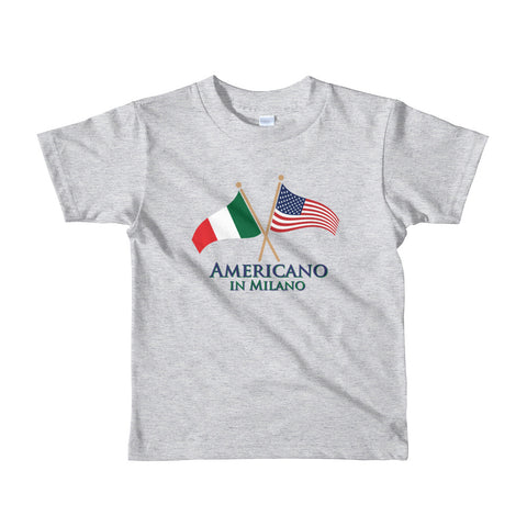 Americano in Milano Short sleeve kids t-shirt
