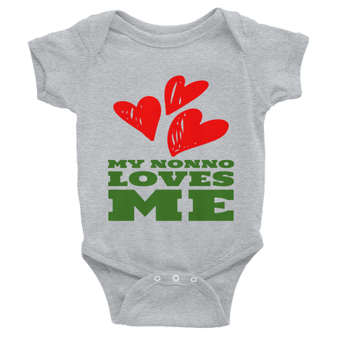 My Nonno Loves Me Infant Bodysuit