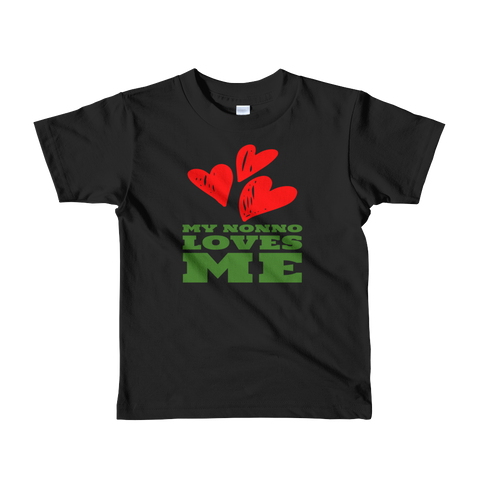 My Nonno Loves Me Short sleeve kids t-shirt
