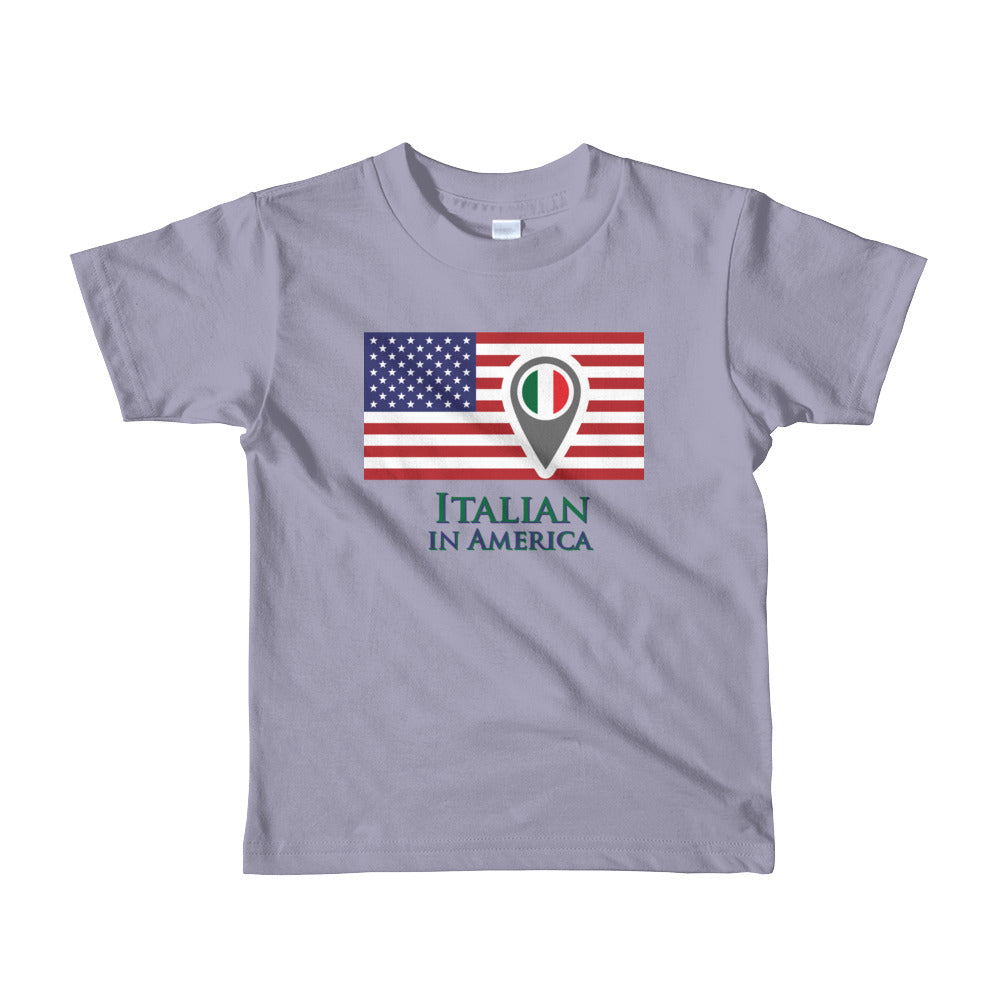 Italian in America Short sleeve kids t-shirt