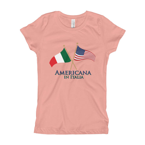 Americana in Italia Girl's Short Sleeve T-Shirt