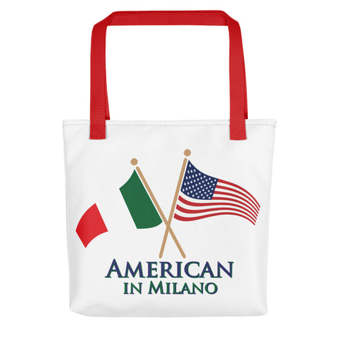 American in Milano Tote bag