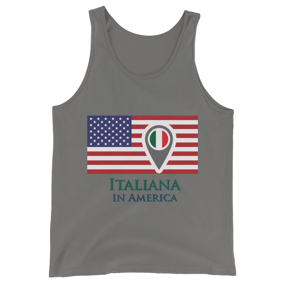 Italiana in America Check In Women's Tank Top