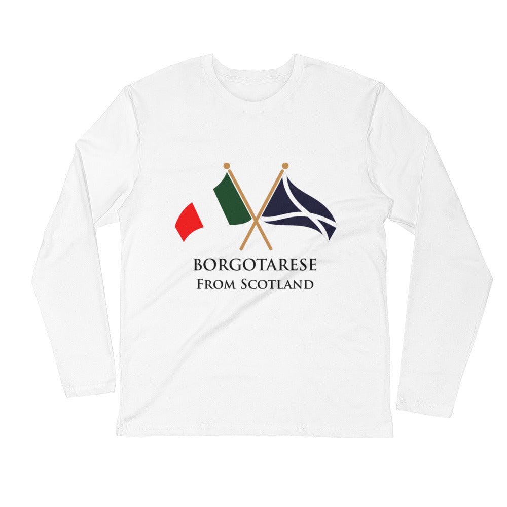 Borgotarese from Scotland Long Sleeve Fitted Crew