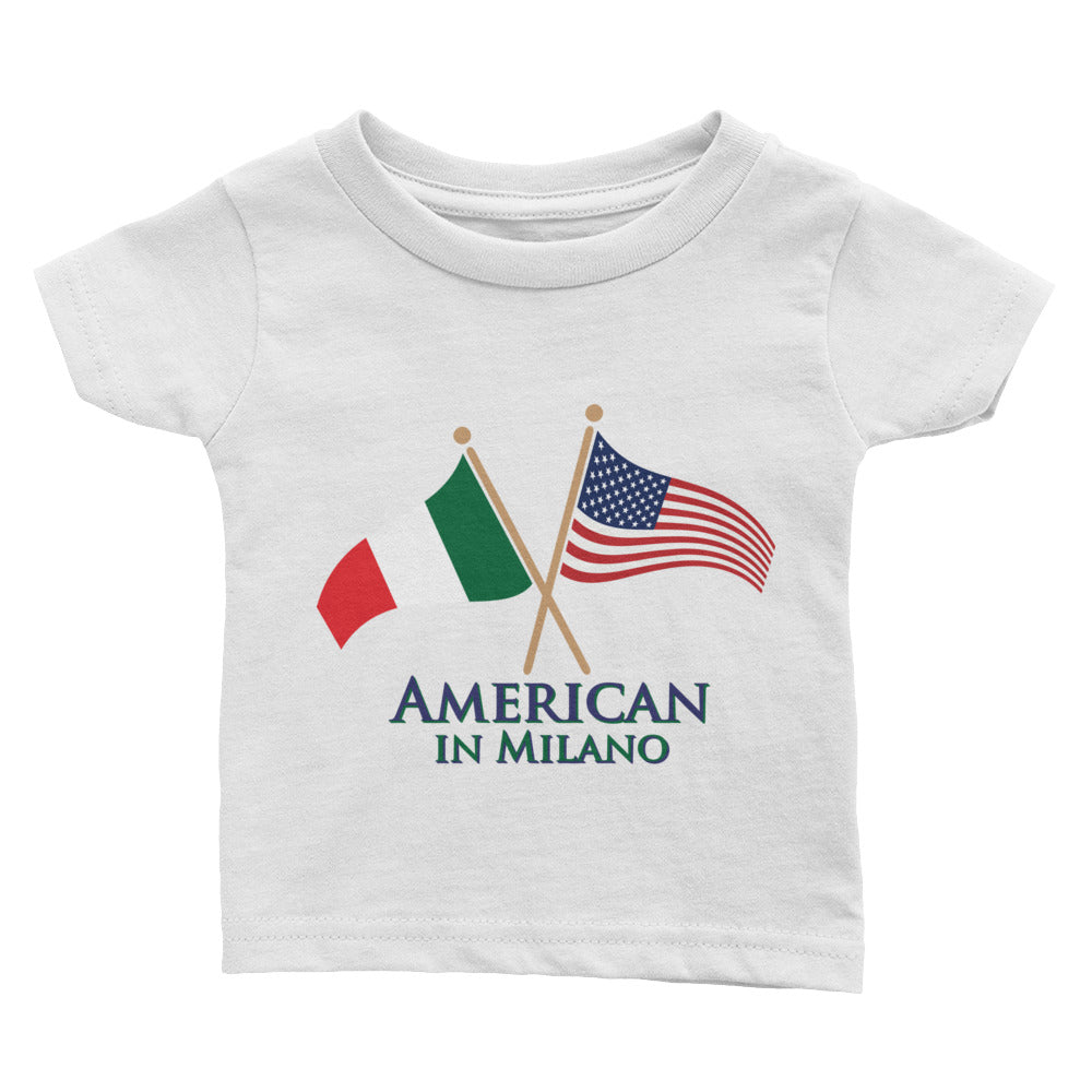 American in Milano Infant Tee