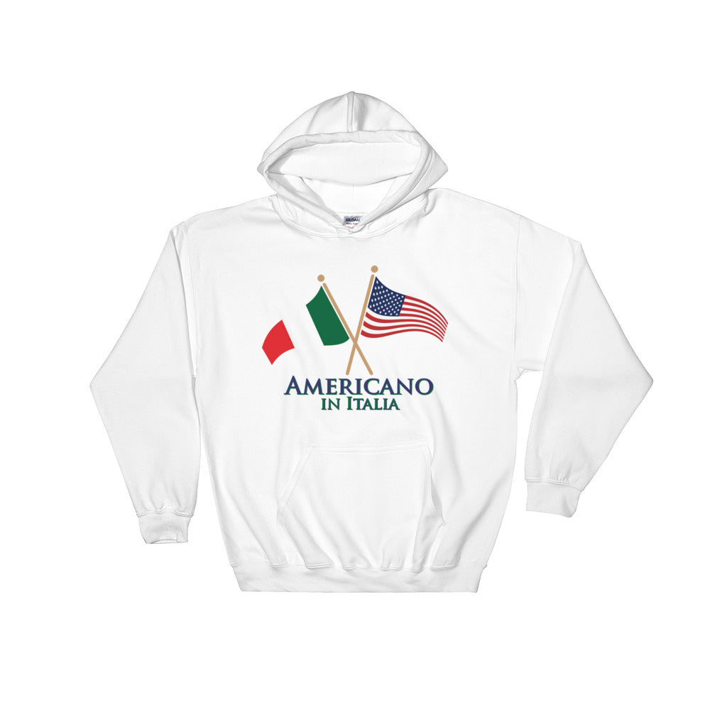 Americano in Italia Hooded Sweatshirt