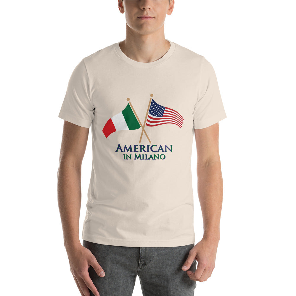 American in Milano Short-Sleeve Unisex T-Shirt
