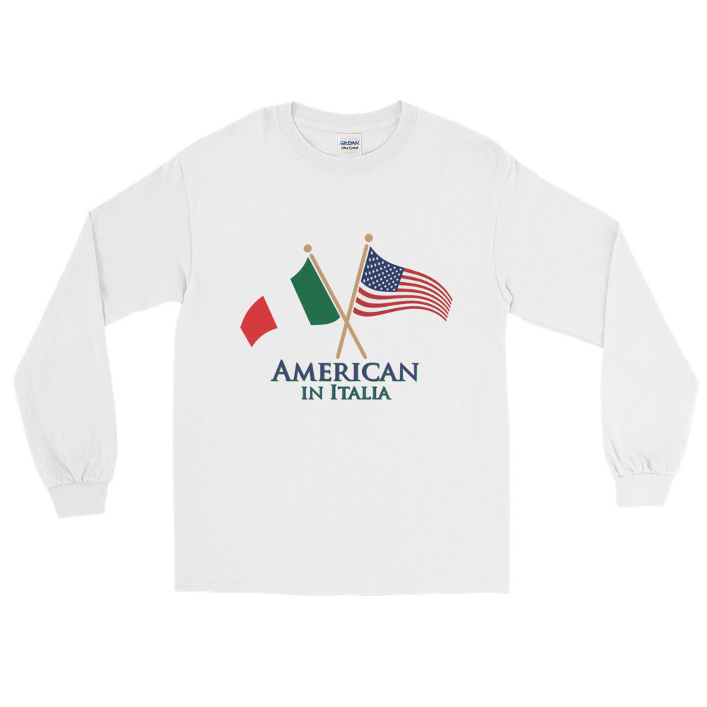 American in Italia Long Sleeve T-Shirt