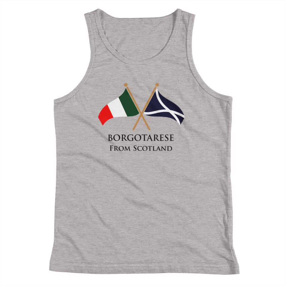 Borgotarese from Scotland Youth Tank Top