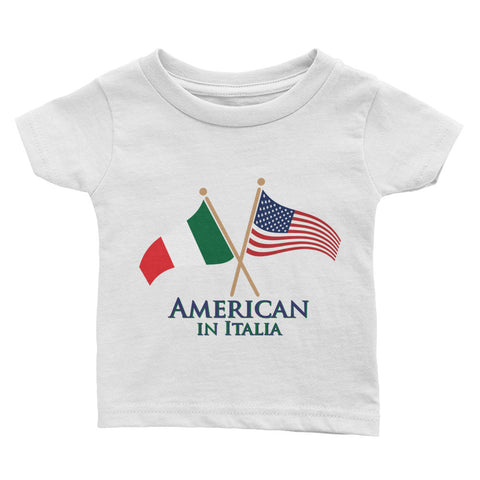 American in Italia Infant Tee