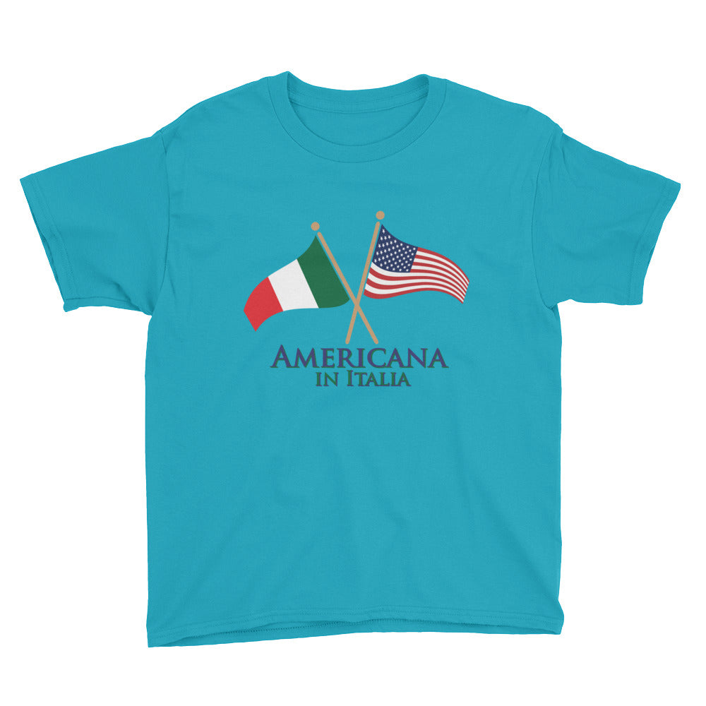Americana in Italia Youth Short Sleeve T-Shirt