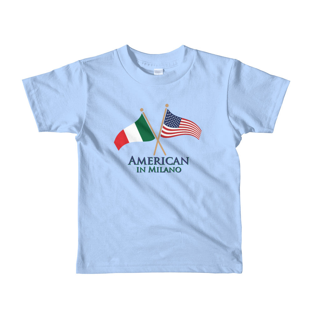 American in Milano Short sleeve kids t-shirt