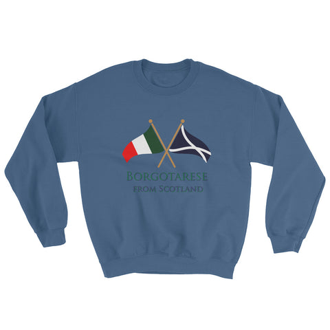 Borgotarese from Scotland Unisex Sweatshirt