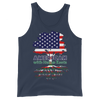 Image of American with Italian Roots Style 1 Unisex Tank Top