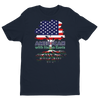 Image of American with Italian Roots Style 1 Unisex Short Sleeve T-shirt