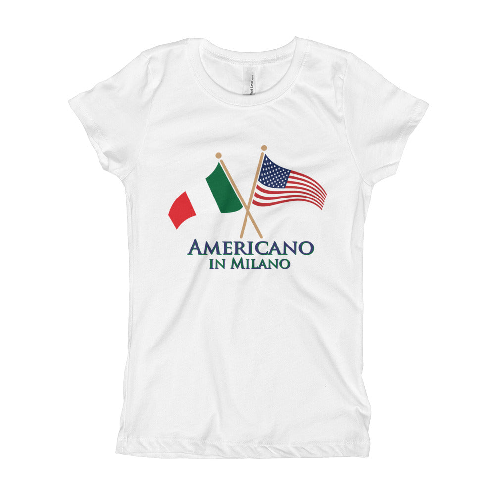 Americano in Milano Girl's Short Sleeve T-Shirt
