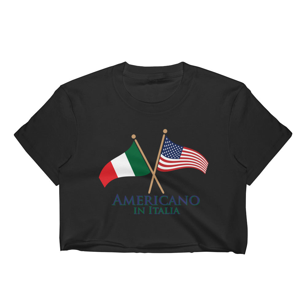 Americano in Italia Women's Crop Top