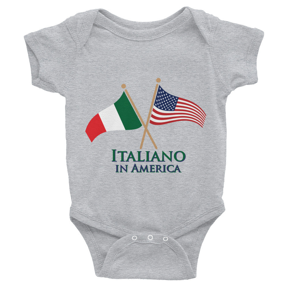 Italiano in American Infant Bodysuit