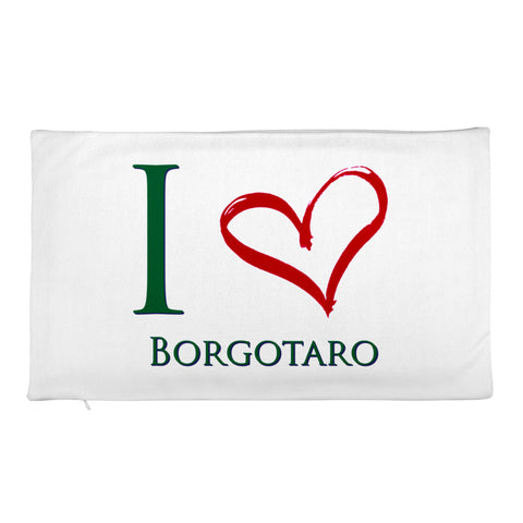 I Love Borgotaro Rectangular Pillow Case only