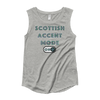 Image of Scottish Accent Mode On Ladies' Cap Sleeve T-Shirt