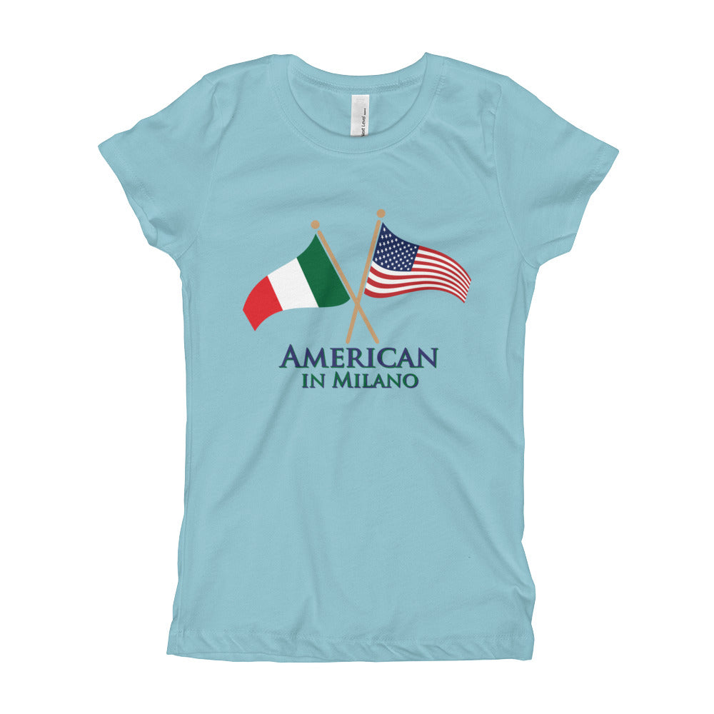 American in Milano Girl's Short Sleeve T-Shirt