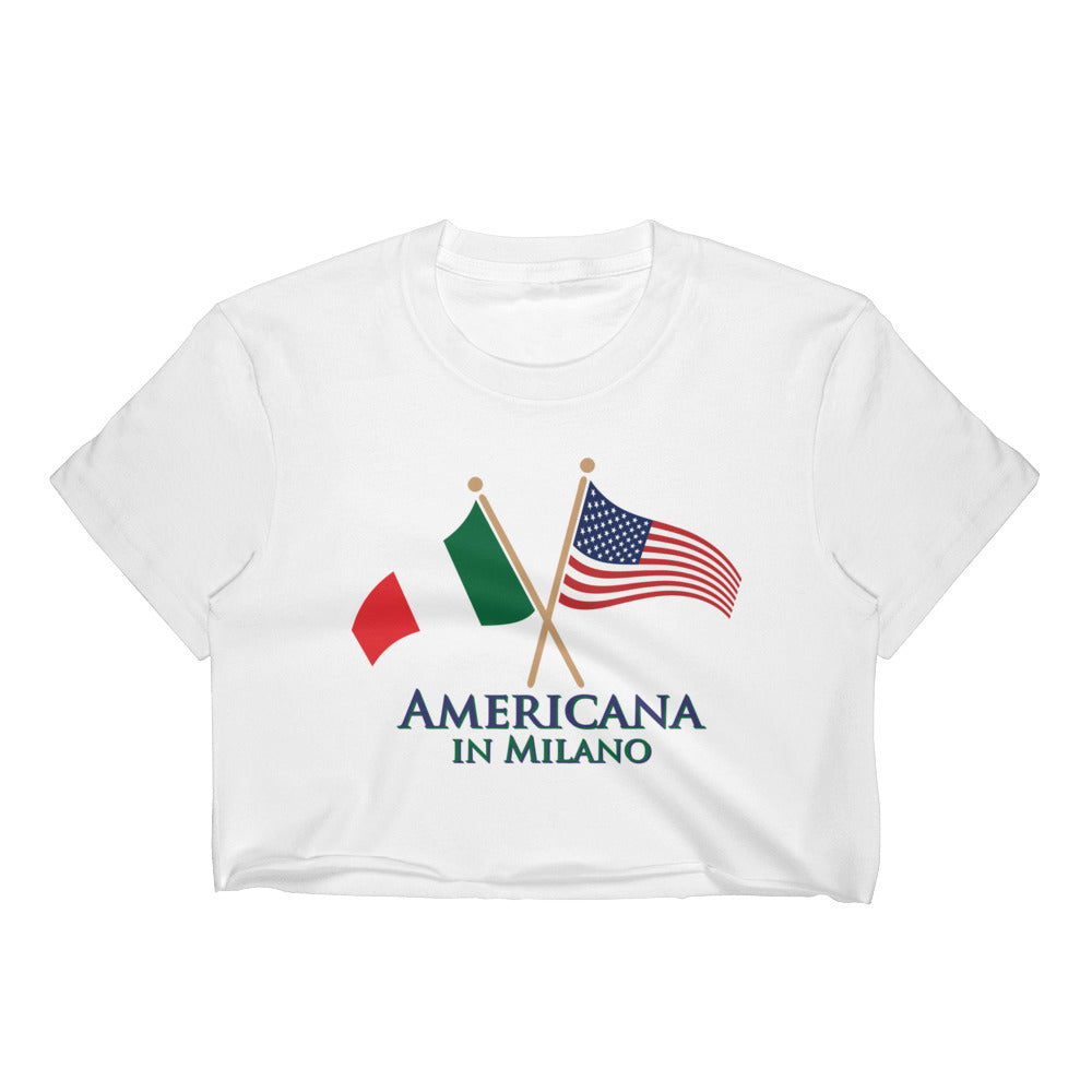 Americana in Milano Women's Crop Top