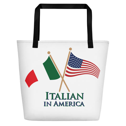 Italian in America Beach Bag
